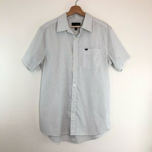 Hurley Shirts - Hurley Men's Shirt Top Short Sleeve Button Down
